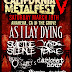 AS I LAY DYING To Headline CALIFORNIA METALFEST V