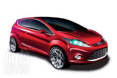 Ford Fiesta Concept sketches