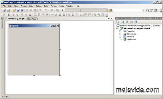 VISUAL C#  2008 Express Edition