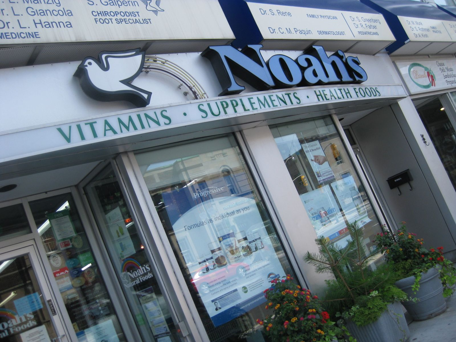 Noah Health Food Store Yonge And Bloor