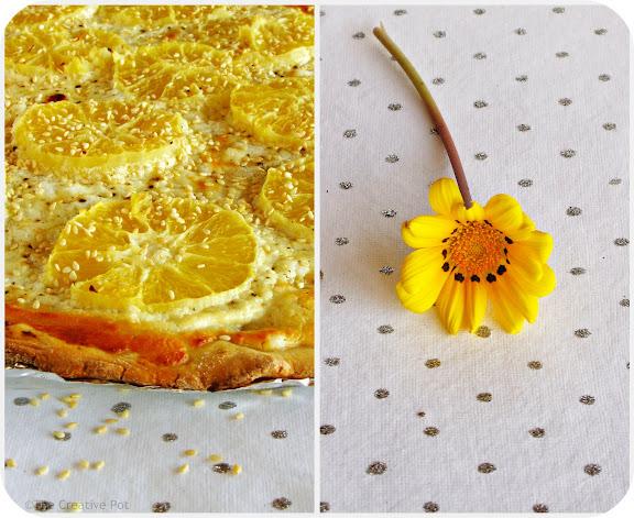 Photo of Orange and Goat's Cheese Tart