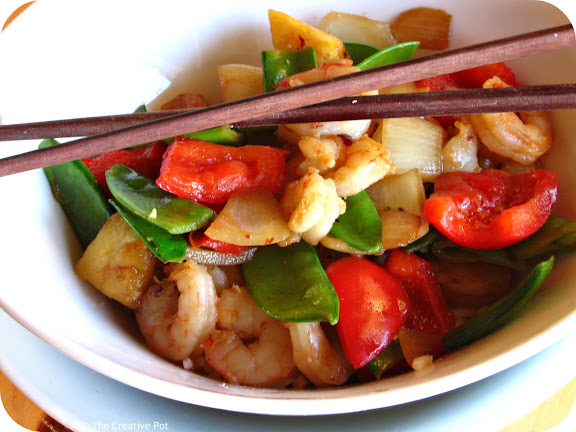 Photo of Sweet & Sour Prawn Stir Fry