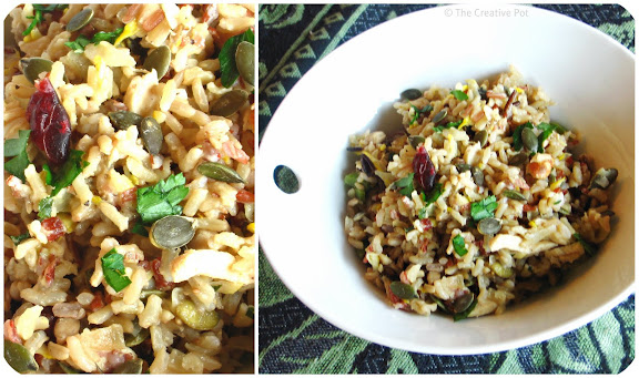 Nutty Chicken Pilaf