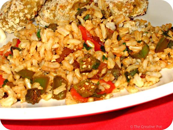 Photo of Okra Fried Rice