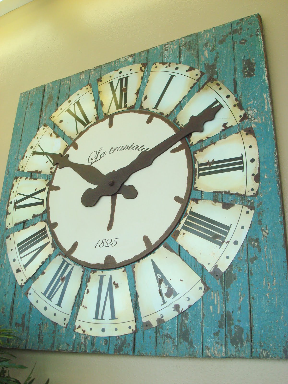 House of chic and penoche time for a new post for Diy clock