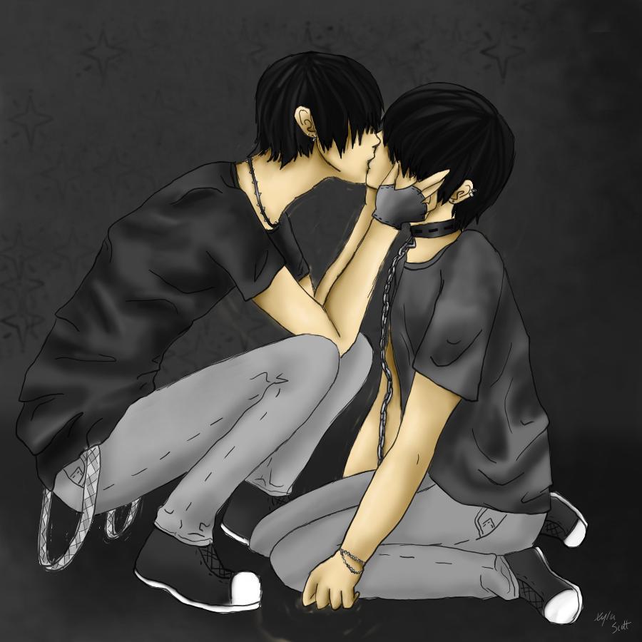 Emo Gay Love 19