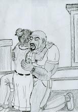 Champ Reynolds embraces Eliza Parker after getting saved