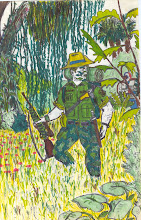 Major Paul Kelly, the Star Hunters' Australian second-in-command