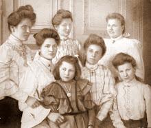 Oma en haar zusjes