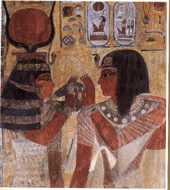 What Is a Major Characteristic of Ancient Egyptian Art?