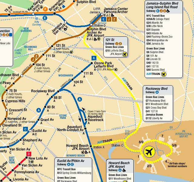how to get jfk airport by subway
