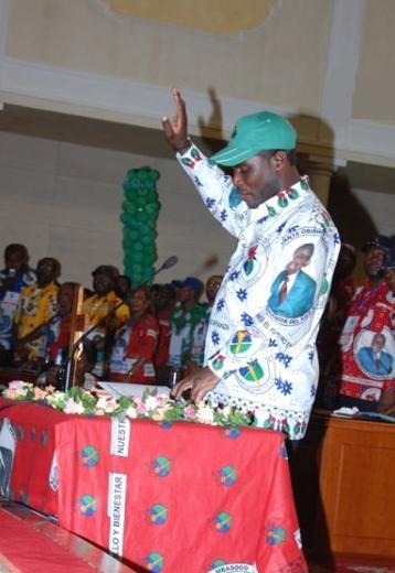 Obamateodoro obiang bad neighbor cabinet minister ricardo mangue equatorial News on jay berger, attorney for equatorial guinea ecuatorial minister of Nguema
