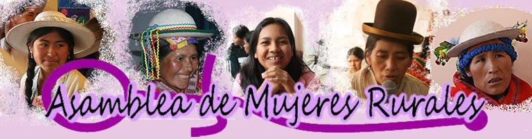 Asamblea de Mujeres Rurales - Bolivia