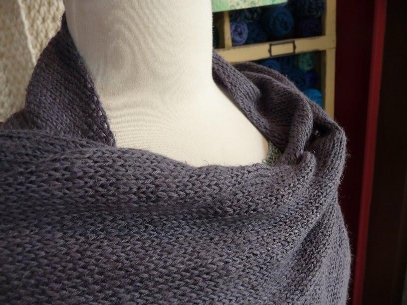Knitting Bias Stockinette : Close knit firefly bias scarf