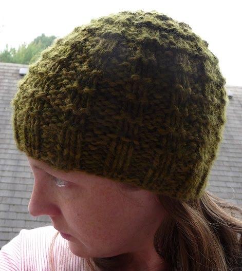 Waffle Stitch Knit Hat Pattern : close knit: A Waffle Hat for You