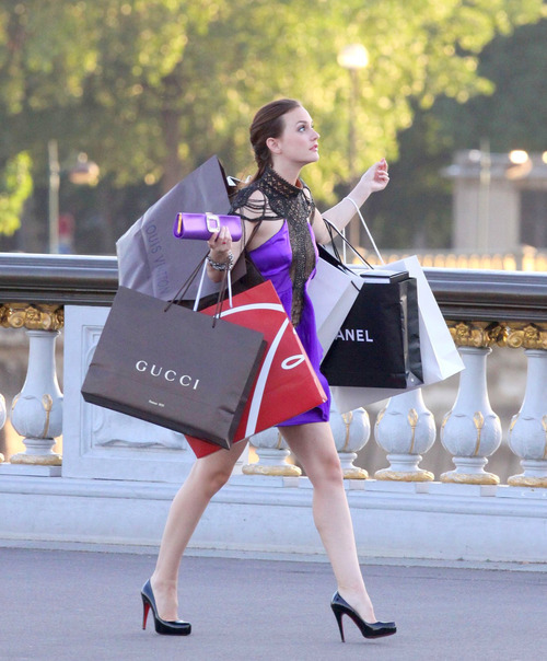 I love shopping♥