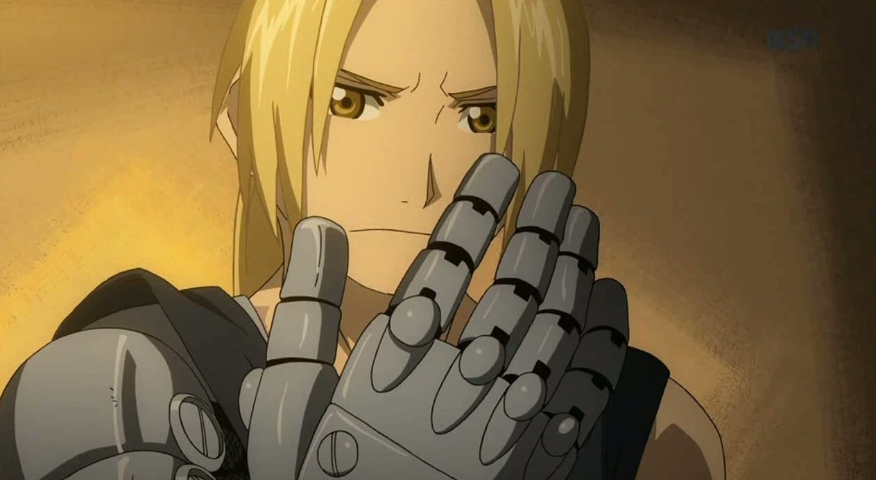BROTHERHOOD SCREENSHOTS-Edward Elric Brotherhood Older