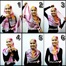 Cara Melilit Shawl