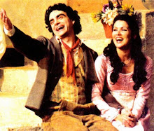 Anna and Rolando in L&#39;elisir d&#39;amore at the state opera Vienna in April 2005