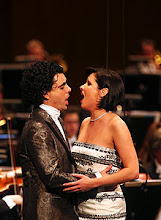 Anna and Rolando at a concert in Paris on 28th march 2007