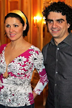 Anna and Rolando at the pressconference of Manon on the 20th april 2007 in Berlin