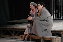 Anna and Rolando in La Bohème at the Mariinsky theatre on 03rd January 2006