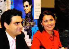 Anna and Rolando at a booksigning after their concert at the Barbican Hall London on 31st Oct. 2006