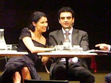 Anna and Rolando at the press conference on 05th November 2006 in Vienna for a following concert