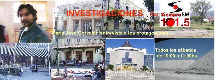 """""""INVESTIGACIONES""""......por 101. 5 Siempre FM"""