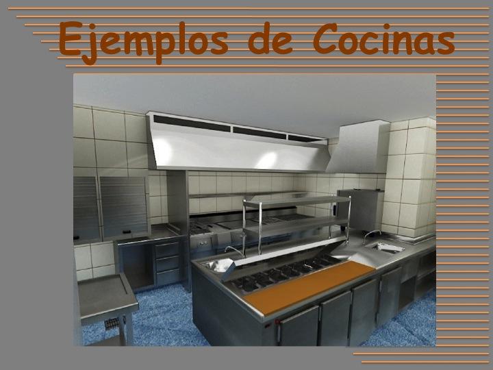 Dise o de restaurantes cocinas industriales for Diseno de cocinas industriales