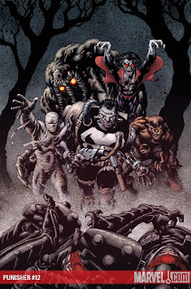 Punisher Marvel Frankencastle comics fumetto