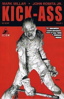 Mark Millar Kick-Ass Marvel fumetti copertina