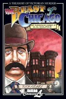La bestia di Chicago Rick Geary 001 Edizioni fumetto copertina