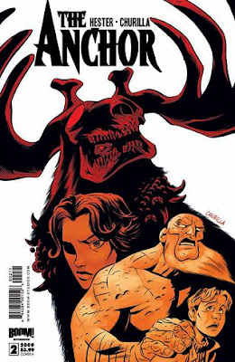 The Anchor Italycomics fumetto copertina