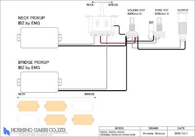 emg new  designed by emg   ibanez rg pu emg 81 installation diagram