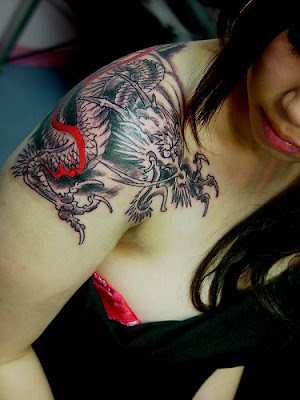 Dragon Tattoo, tattoo design