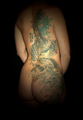 back tattoo, japanese tattoo,  tattoo design