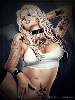pin up girl tattoo designs. girl tattoos ideas. tattoo