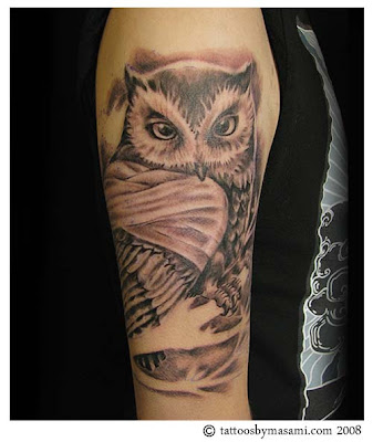 New Owl Tattoo Gallery | MEXICAN TATTOO DESIGN