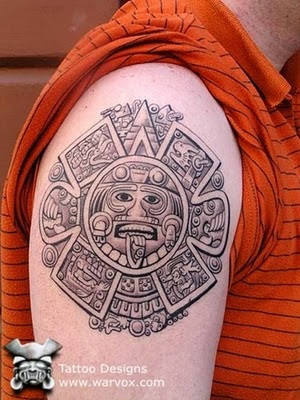 tattoo diseños with aztec tattoos for tattoo on shoulder