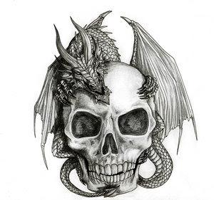 Skull Tattoo Stencils Picture 4
