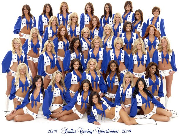 Weekly Dallas Cowboys Cheerleaders