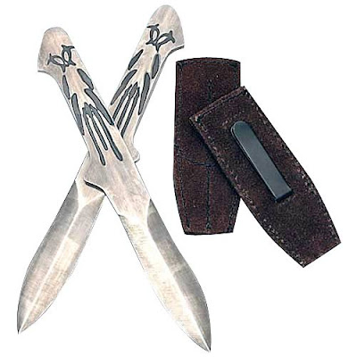 Как сделать метательные ножи как у ассасина