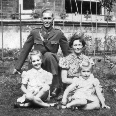 goodall family photo before