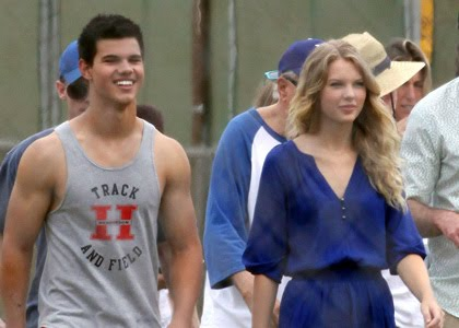 taylor lautner and taylor swift. taylor lautner taylor swift