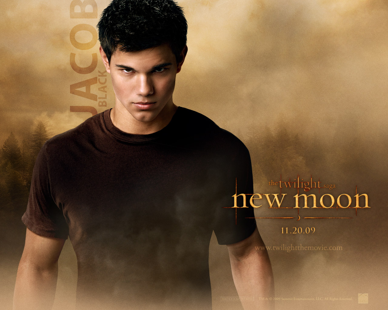 Twilight Saga New Moon Wallpapers - Jacob Black