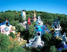 O jardim do Tarot - Toscana, Itália. Niki de Saint Phalle