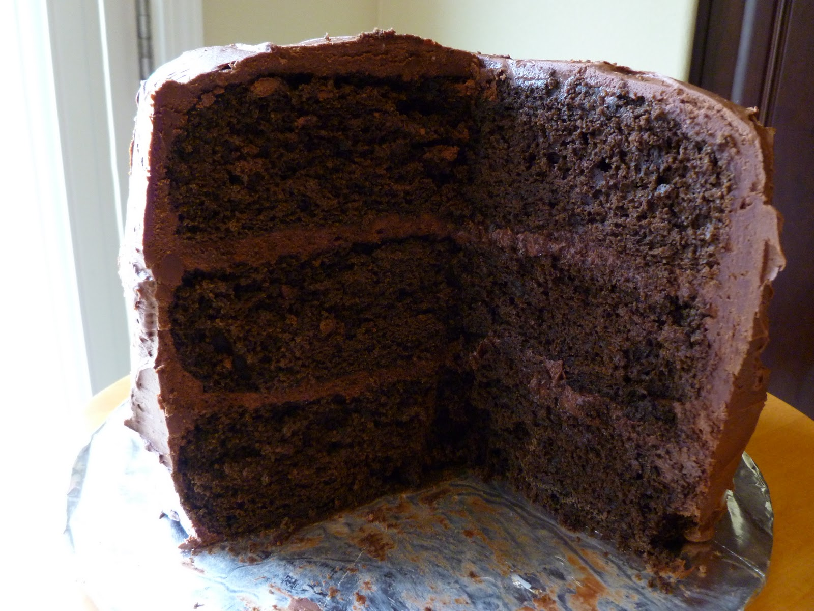 The Pastry Chef's Baking: Devil's Food Cake with Chocolate Buttercream