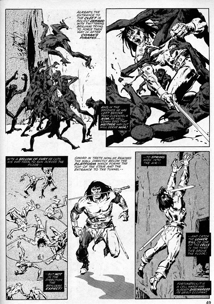 The Savage Sword Of Conan Issue #38 #39 - English 49