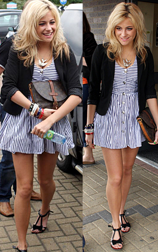 Here are some outfits of hers that I really like, enjoy: